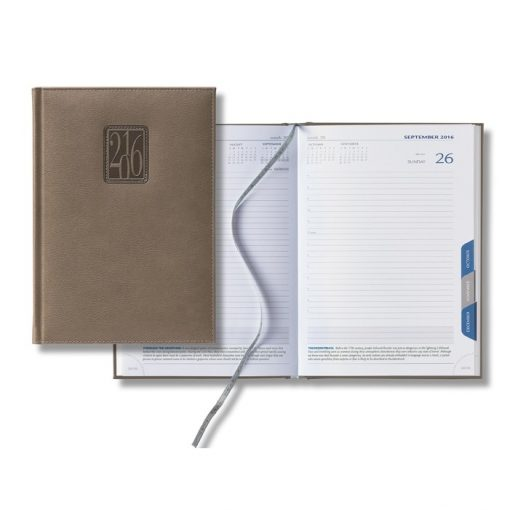 Castelli 2018 Panama Mid-Size Tabbed Daily Planner