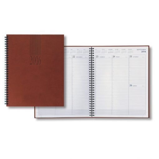 Castelli 2018 Tucson Large Desk Wire Weekly Planner