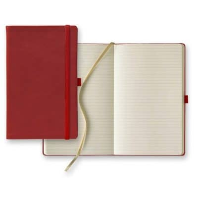 Castelli Calf Leather Medium Ivory Journal