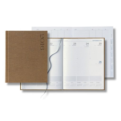 Castelli Nature Large Weekly Desk Planner - 2018
