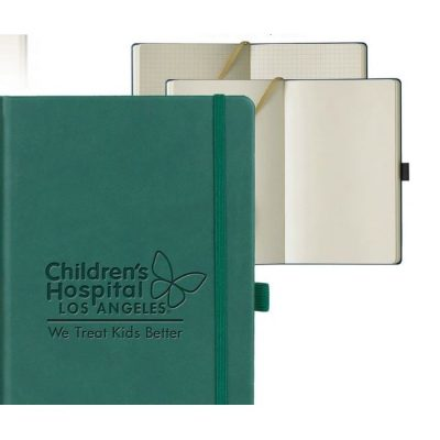Castelli Tucson Medium Ivory Journal w/Blank Pages